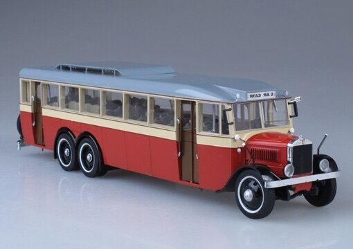 Ya-2 USSR Bus Bus Bus Red 1 43 Ultra Models 42649e