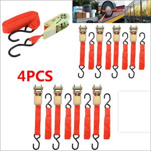 Transportation Fixed Straps Box Goods 4 Pcs 15 /'/' Ratchet Car Truck Furniture
