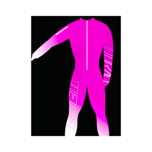 Adult Unpadded Race Catsuit Lycra BOLD Pink