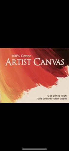 100/%-Cotton Wood Frame 11x14 Stretched Canvas SMC Self Mode Creative