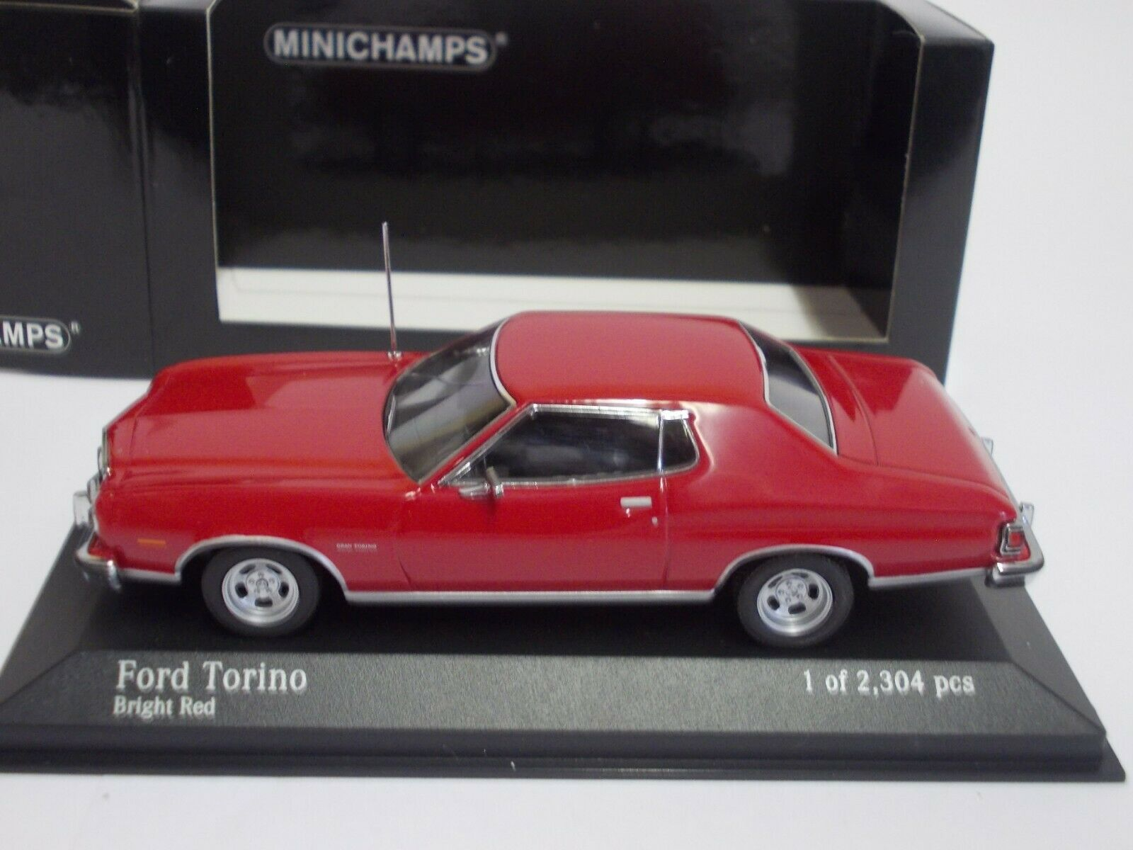 Minichamps 1 43  Ford Torino  ,NEU,unbespielt in in in Ovp.(R602)  | Verschiedene Arten Und Die Styles  ed0bbf