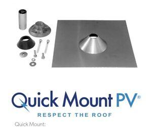 """Uni Quick Mount Pv Qmnc A 12, Qbase Comp Mount 12"""" × 12"""" One Clignotant Kit-afficher Le Titre D'origine Effet éVident"""