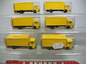 AF197-0-5-6x-Wiking-H0-1-87-18-552-MAN-LKW-Lastwagen-Post-NEUW-OVP