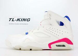 4293dd12c2d1e1 Nike Air Jordan FLTCLB  91 Flight Club Sail Racer Pink Blue 555475 ...
