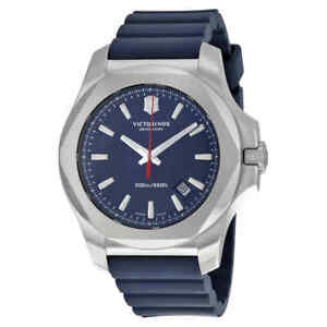 Victorinox-Swiss-Army-Inox-Blue-Dial-Blue-Rubber-Men-039-s-Watch-241688-1