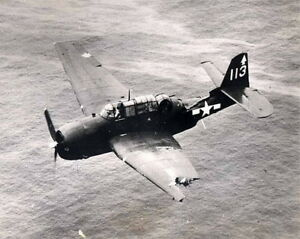 B-amp-W-WWII-Photo-US-Navy-TBM-Avenger-Damaged-WW2-Grumman-World-War-Two-USN