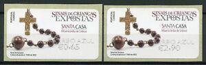 Portugal-Stamps-2020-MNH-Foundling-Tokens-Misericordia-Susana-Cor-Azul-2v-SA-ATM