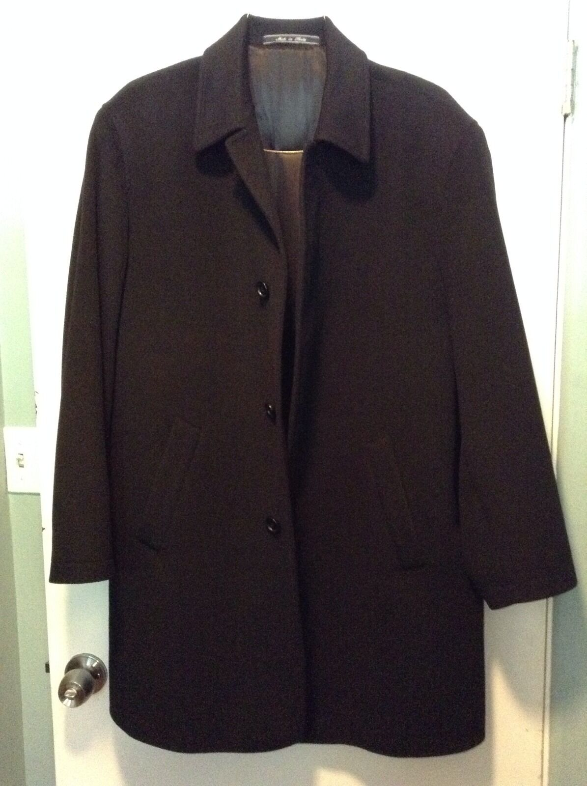 Saks Fifth Avenue cashmere and wool Mens coat