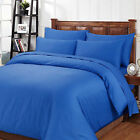 1000TC 4pcs 100% Egyptian Cotton Deluxe Sheet Set- KING&QUEEN- ROYAL BLUE