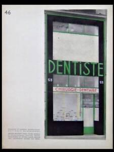 ZAHNARZTPRAXIS-IN-PARIS-ART-DECO-1930-POCHOIR-HENRY-DELACROIX-ARCHITEKTUR