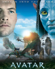 JAMES CAMERON'S AVATAR AWAKEN OFFICIAL MINI POSTER NEW