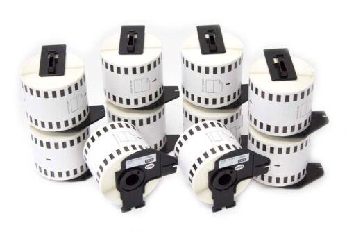 Etiketten Rolle 10St Etikett: 62mm x 30.48mtr fuer BROTHER P-touch QL-560