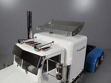 Aluminum 13.1cm Roof Spoiler Wing for Tamiya R/C 1/14 King Grand Hauler Truck