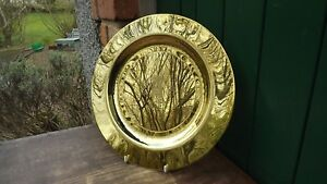 1982 Birth of Prince William of Wales Large Brass Salver Signed P Marshall - Belfast, United Kingdom - 1982 Birth of Prince William of Wales Large Brass Salver Signed P Marshall - Belfast, United Kingdom