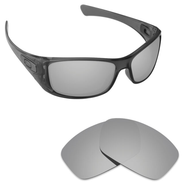 aded4348a8 Hawkry Polarized Replacement Lenses for-Oakley Hijinx Sunglass Silver  Titanium