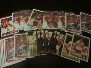 Huge-Lot-of-32-Steve-Yzerman-Hockey-Cards-Red-Wings