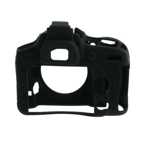 Protective Case Cover Skin Silicone Housing for Nikon D750 Camera Part Black