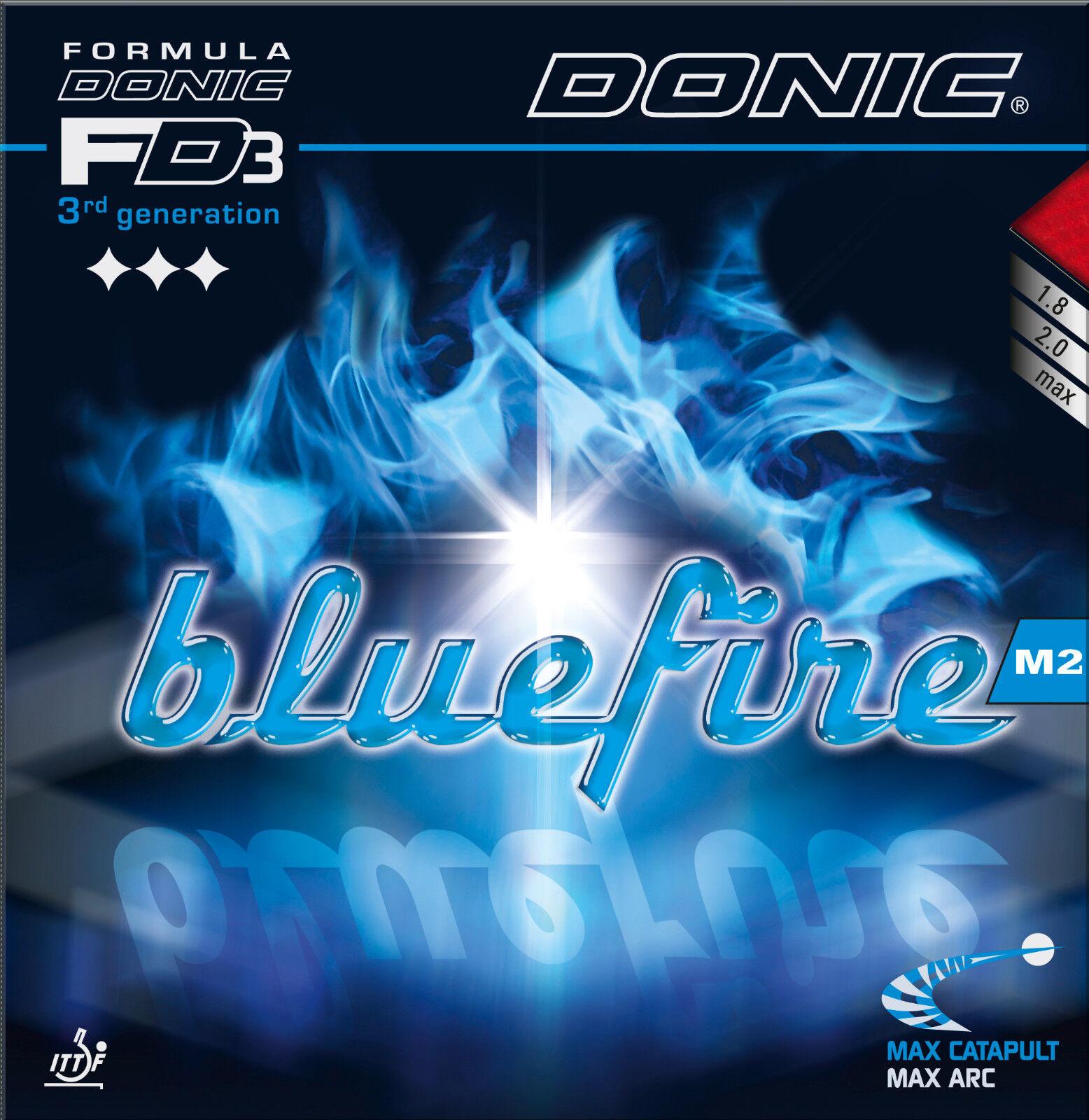 DONIC Blaufire M2 max max max schwarz  NEU   OVP  | Verschiedene Stile und Stile  | Leicht zu reinigende Oberfläche  | Spielen Sie Leidenschaft, spielen Sie die Ernte, spielen Sie die Welt  103a46