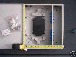 24 Fiber Splice Termination Wall Mount Box Corning Telect Commscope Panduit Ebay