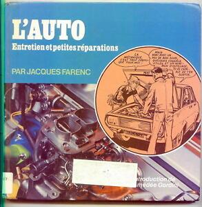 LIVRE-DE-1976-L-039-AUTO-ENTRETIEN-ET-PETITES-REPARATIONS