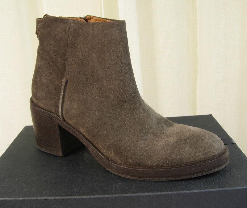 NIB Alberto Fermani Marila Ankle Boot Bootie Tortora Suede $495 Size EU 40/US 10 $495 Suede 1d4f3a