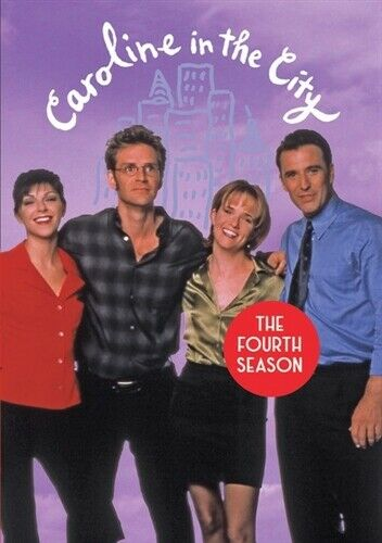 Caroline In The City Tv Series Complete Fourth Season 4 Dvd For Sale Online Ebay