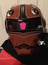 Masei 610 Brown McGuy Gundam Model Kit KTM Motorcycle Bike Chopper NFL Helmet