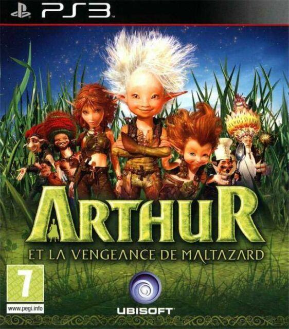 PS3 ARTHUR ET LA VEANGEANCE DE MALTAZARD VF FRANCAIS PAL PS 3 PLAYSTATION 3 NEUF