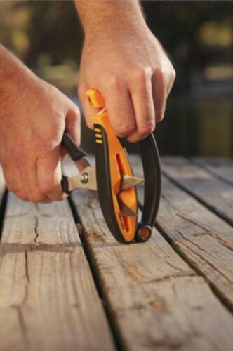 Smith/'s Jiffy-Pro Handheld Sharpener For Knives Scissors /& Game Shears #50185