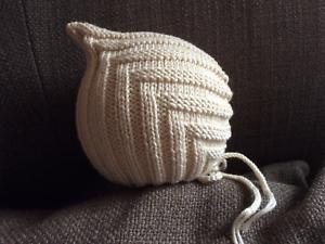 Kopfumfang 40-43cm Pixiemütze Zwergenmütze Babymütze NEU Handarbeit