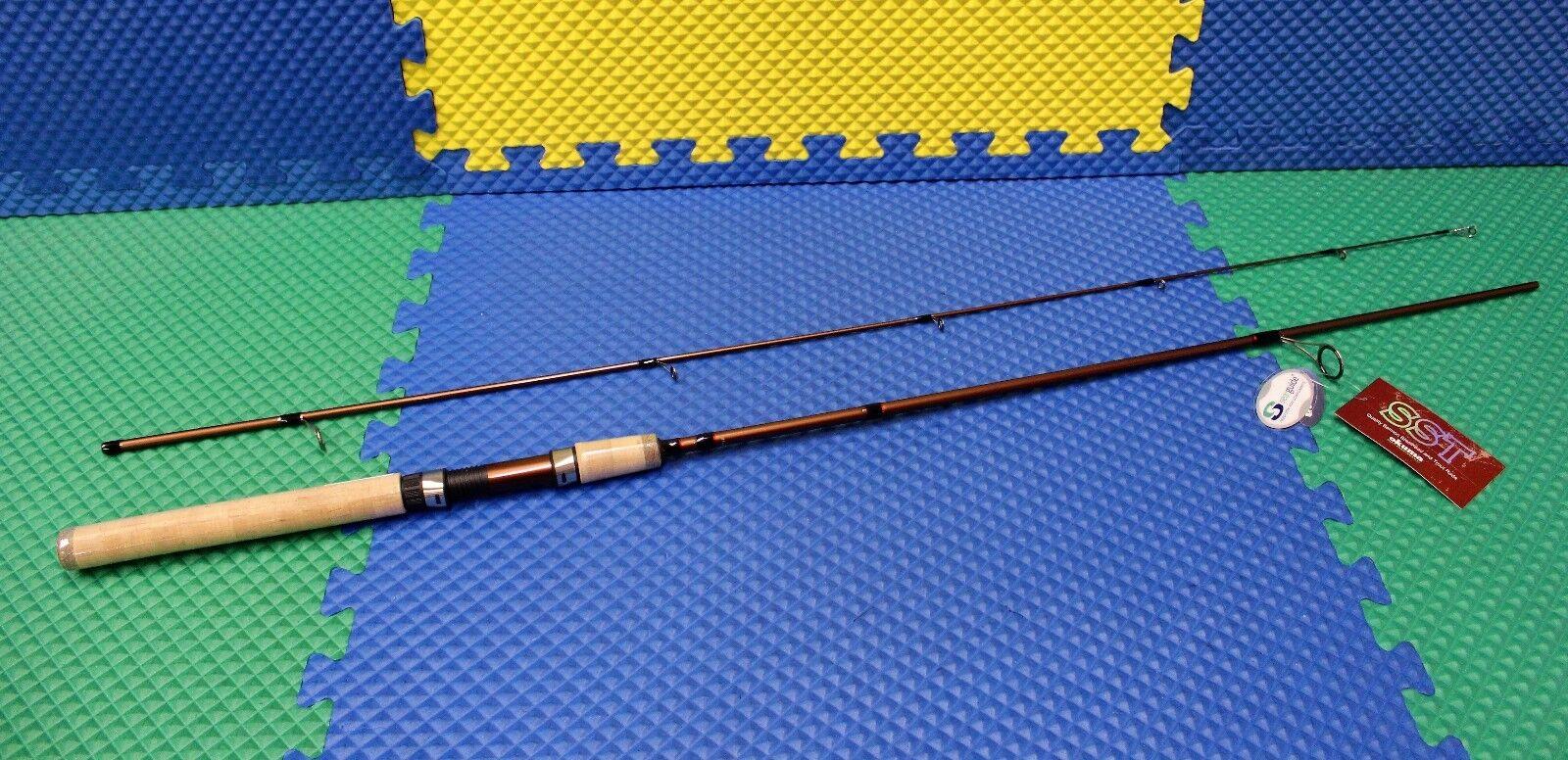 Okuma  SST 6' 6  Spinning Rod Medium Action 2 Piece SST-S-662M  hot sales