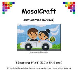 MosaiCraft-Pixel-Craft-Mosaic-Art-Kit-039-Just-Married-039-Pixelhobby