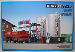 Orig. Scala H0 Kibri 9358 Kit di Costruzione Stazione Wilhelmsbad Nuovo Conf