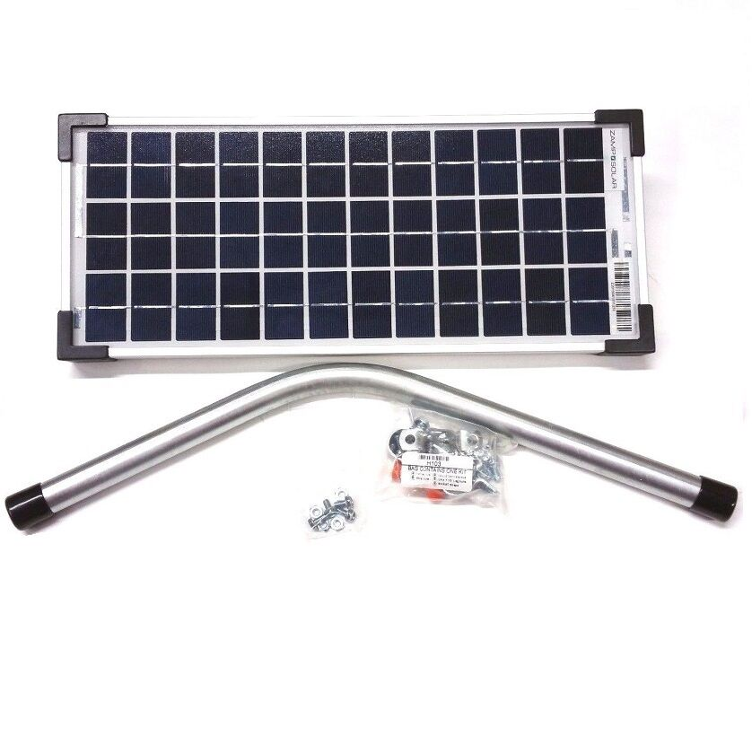 Gto Fm123 Access Systems 10 Watts Solar Powered Battery