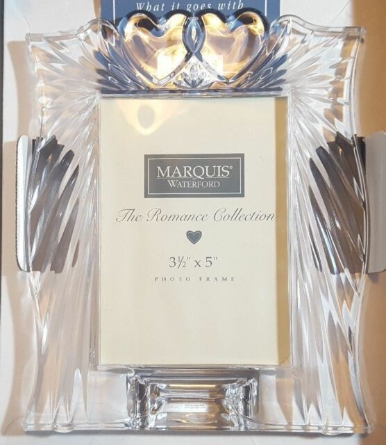 Waterford Crystal Marquis Romance 3.5 X 5 Picture Frame | eBay