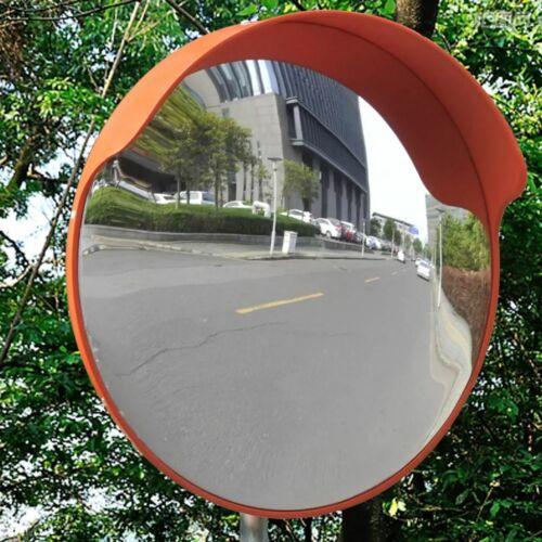 Verkehrsspiegel Konvex PC-Kunststoff Orange 45 cm Outdoor