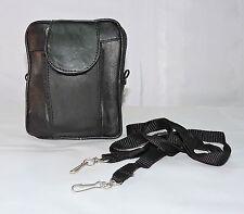 Leather Cel Mobile Phone Money Diary Bum Fanny Hip Waist Belt Pouch Camera Bag