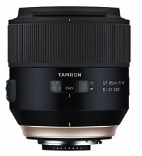 Tamron 85 mm F1.8 VC USD Lens compatible with Canon DSLR Camera - Black
