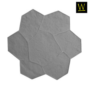Random Rock Single Concrete Stamp By Walttools Floppy