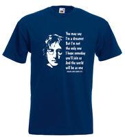 John Lennon Imagine T Shirt Paul McCartney Ringo Starr George Harrison Beatles