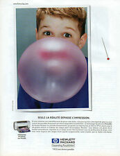 Publicité 1999  Imprimante HP DESKJET avec PhotoREt de HEWLETT PACKARD