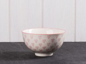 IB-LAURSEN-Ciotola-Cuore-Piccolo-Bianco-rote-cuori-Ceramica-schussel-muslisch