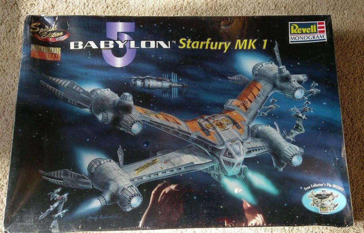 Edición Especial Coleccionistas Babylon 5 Starfury MK1 Revell Modelo con pasador de Coleccionistas