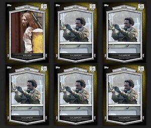 Topps-Walking-Dead-Card-Trader-Digital-Hazard-6-Pack-Insert-Lot