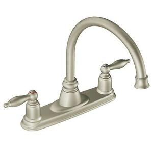 Moen 7902sl Castleby 2 Handle Kitchen Faucet In Stainless Steel
