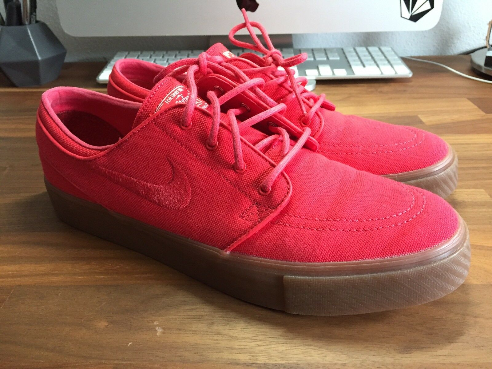 Nike Sb Janoski, Red Gum, Ungetragen Rot, 44, Neu Ungetragen Gum, 13173f