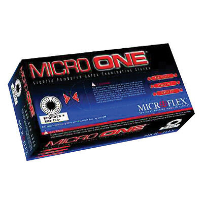 Medium Microflex MO-150M Micro One Light Powder Latex Gloves