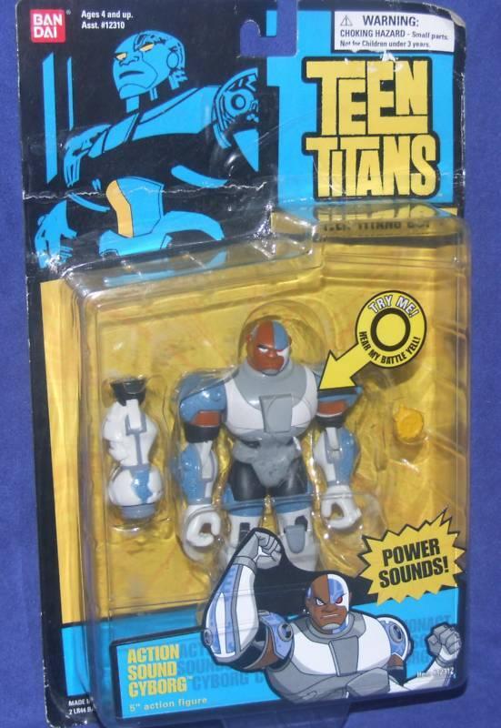 Teen - titanen aktion ton 5  cyborg - fabrik versiegelt, 2005