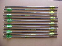 Crossbow Bolts For Excalibur Matrix 405 12 Pack 18 Flat Nock Carbon