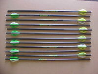 Crossbow Bolts For Excalibur Matrix 405 1 Dozen 18 Flat Nock Carbon